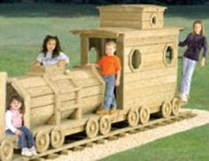 backyard train plans...I wonder if there's any way we could do this...