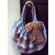 Crochet Spot » Blog Archive » Crochet Pattern: Bow Peep Tote - Crochet Patterns, Tutorials and News