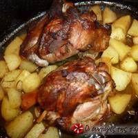 Κότσι χοιρινό της Δέσποινας My Favorite Food, Favorite Recipes, Greek Cooking, Greek Recipes, Food And Drink, Pork, Cooking Recipes, Sweets, Meals