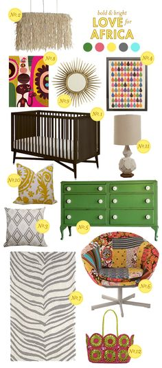 A friend shared this with me. Super cute items for a baby's room...and they benefit an international adoption!