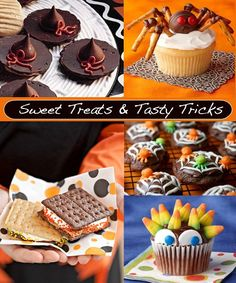 Lots of sweet Fall treats and tasty tricks.  Fun and  YUMMY!