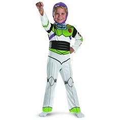 Buzz Lightyear Costume - Child Costume - Toddler (3t-4t)