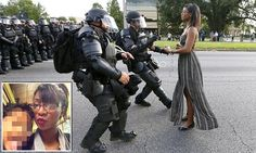 Woman arrested in Baton Rouge is a mother who was at her first protest