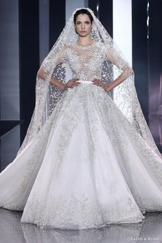 ralph and russo fall 2014 2015 couture wedding dress