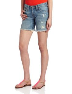 True Religion Womens Jayde Boyfriend Short Wagoneer 24 * Find out more about the great product at the image link. (This is an affiliate link) Spring Shorts, Boyfriend Shorts, Short Outfits, True Religion, Skort, Latest Trends, Clothes For Women, How To Wear, Women's Shorts