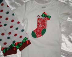 Christmas Onsie Set, Onsie and Leggings, First Christmas Outfit, 6 to 12 months, Toddler Clothing Christmas Onsies, Toddler Christmas, First Christmas, Christmas Sweaters, Baby & Toddler Clothing, Toddler Outfits, Kids Outfits, Christmas Colors, Christmas Ideas
