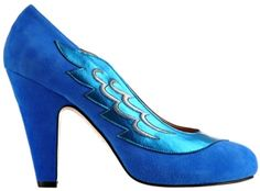 Lulu electric blue by Minna Parikka Electric Blue, High Heels, Pumps, Pure Products, Eccentric, Chic, Stylish, How To Wear, Shopping