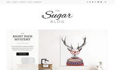 Sugar Blogger Template. free professional blogger template Responsive SEO Ready fashion Photography portfolio designs