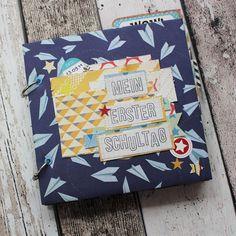 """Creative Pages by amaryllis775: Minialbum """"Mein erster Schultag"""""""