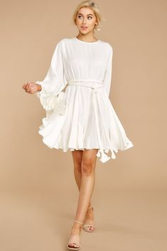 4dbcaf75b2 Everyday Here White Dress (BACKORDER APRIL)