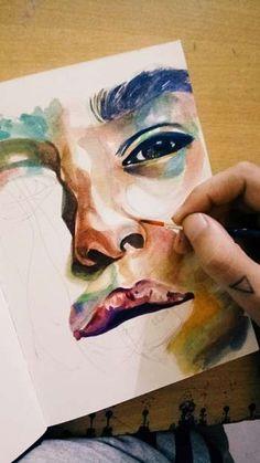 """Ishanii Das"" #Creative #Art in #painting @Touchtalent http://bit.ly/Touchtalent-p"