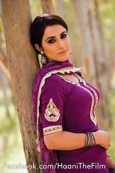 Haani punjabi film actress in punjabi suit