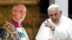 Francisco, primer papa que visitará la iglesia anglicana de Roma