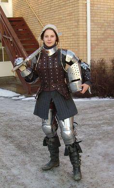 Girl Power: armaduras medievais para mulheres