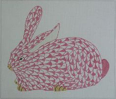 KSH Needlepoint .. herend bunny. cool. Ansley do you have this?