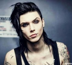 The most beautiful man in the world!!!  ;-) Andy Biersack