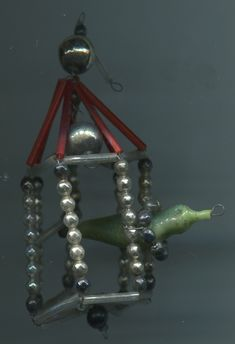 Bird Christmas Ornaments, Xmas, Beaded Ornaments, Christen, Mercury Glass, Glass Beads, Chandelier, Ceiling Lights, Lighting