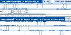 SGSST | Formato Investigación de Incidentes y Accidentes -Positiva