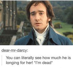 My heart!!! Ahh!!! Mr. Darcy... ❤️