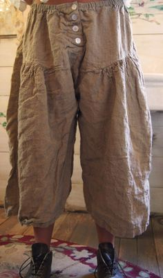 Magnolia Pearl pants. I own this pair in white. One of her items from a couple years ago. These were made in the USA....