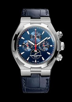 Vacheron Constantin Overseas Chronograph Perpetual Calendar Boutique New York. This is Vacheron Constantin's first high complication in a steel Overseas case.