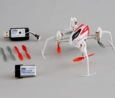 Blade BLH7180 Nano QX 3D BNF Quadcopter SAFE Technology w/ Charger + Battery #Blade