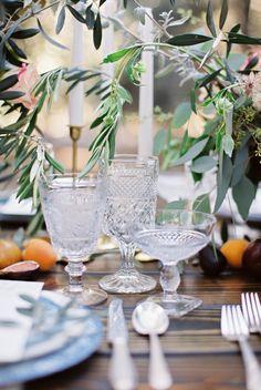 Cut Crystal Wedding Glasses
