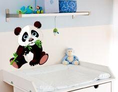 Wandsticker Panda Baby B x H: 70cm x 80cm von Klebefieber®