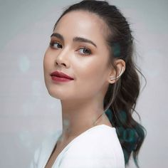 Face Claims, Kos, Actors & Actresses, Asian Girl, Thailand, Facial, Hair Makeup, Korean, Hair Beauty