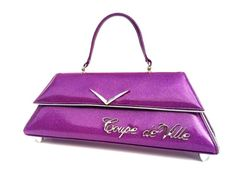Coupe deVille Purple. Couture Vintage Car inspired Handbag. Handmade in the USA by RevampProductions, $350.00