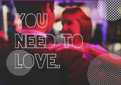 All you need is love quote couple dancing party dance pink smile blond girlfriend boyfriend cute couple tumblr