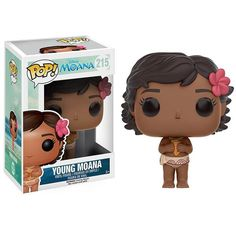 This is a Funko Disney Moana POP Young Moana Vinyl Figure that is produced by the neat folks over at Funko. So cute! Disney POP's are always popular sellers an