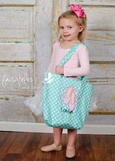 Personalized Girls Dance Bag  Dance Bag  by fairytalesfireflies, $35.00