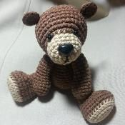 Cute Teddy Bear Amigurumi - via @Craftsy