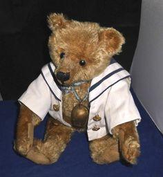 Steiff Teddy  mit Knopf ca. um 1908 - Sammlungsauflösung -ansehen lohnt bestimmt