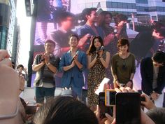 [July 22nd 2012] Kim Soo Hyun (김수현) on The Thieves (도둑들) Event at Haeundae Outdoor Busan #1 #KimSooHyun #SooHyun #TheThieves #Dodookdeul