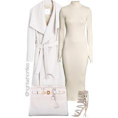 A fashion look from September 2015 featuring H&M dresses, MANGO coats and Hermès handbags. Browse and shop related looks.