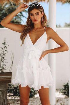 13ddbd7185 32 Best White Mini Dress images