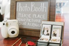 diy fuji instax photo booth wedding