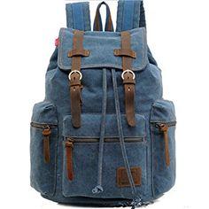 Homme Crosshatch Créateur Coton Sac à Dos Unisexe Voyage grande taille sac à dos