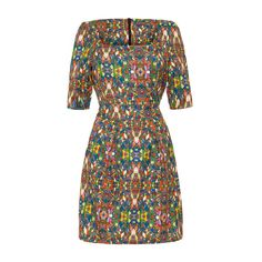Marble Pocket Dress - A kaleidoscope of colour - http://www.feverdesigns.co.uk/avebury-top-floral-print.html