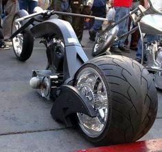 custom chopper motorcycle bike