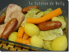 Potée Savoyarde Healthy Crockpot Recipes, Clean Recipes, Eat All You Can, Wok, Cravings, Sausage, Food And Drink, Lunch, Dishes