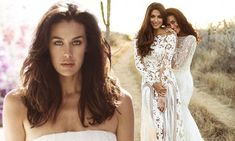 Megan Gale stuns in unearthed photo shoot with Pia Miller