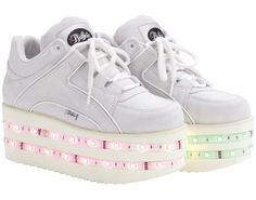 zapatillas luces topshop