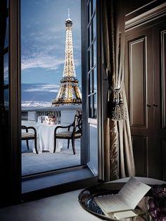 Paris apartment, please...