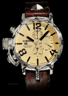 U-Boat - Phoenix. A great example of design purity meets precious stones.