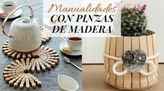 Manualidades con pinzas de madera House Cleaning Tips, Cleaning Hacks, Dollar Tree Decor, Clean House, Place Cards, Place Card Holders, Crafts, Transitional Chandeliers, Nail String Art