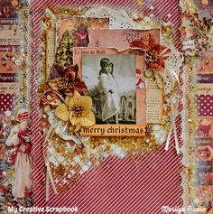 Layout: My Creative Scrapbook- Merry Christmas