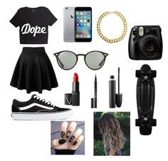 #23 by obey13 on Polyvore featuring polyvore, fashion, style, Vans, Gogo Philip, Ray-Ban, Stila, MAC Cosmetics, NARS Cosmetics and clothing